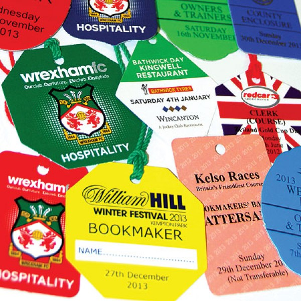 Personalised Event Badges with Full Colour Print Prices from 20p each