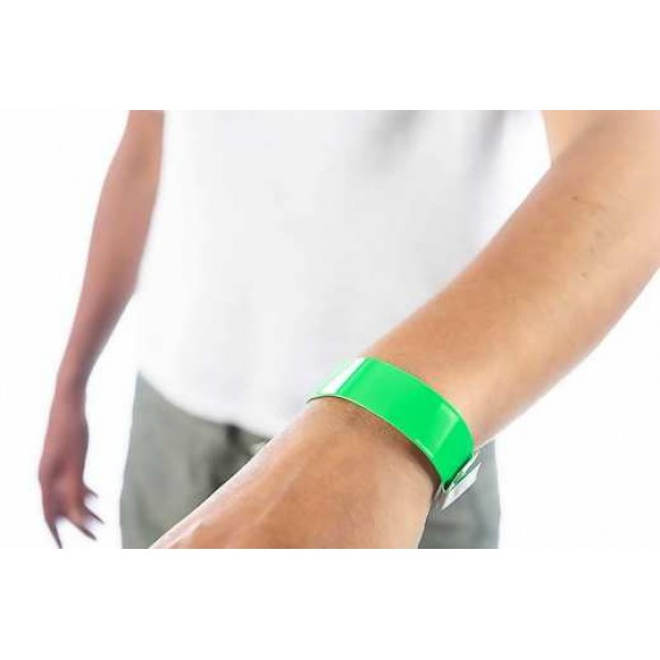Vinyl Slim Plastic Unprinted Wristband (pack of 100)